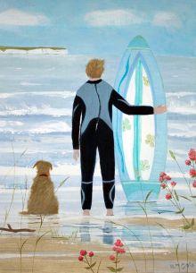 Hannah Cole Surfer