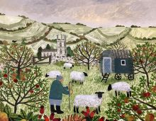 The Shepherd's Hut  By Artist Vanessa Bowman