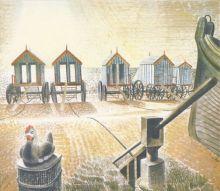 Eric Ravilious Aldeburgh Bathing Machine