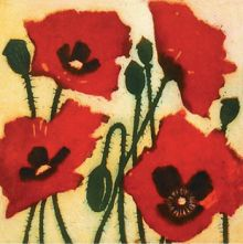 Susie Perring Crimson Poppies