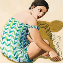 Anita Klein Drawing in the Sand