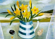 Sarah Bowman Daffodills and Shells