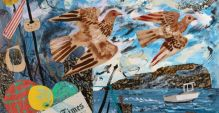 Shetland Times Collage by Mark Hearld