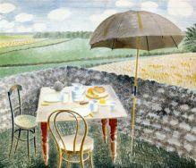 Tea at Furlongs Eric Ravilious