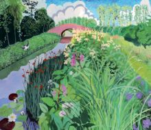 Sheila Smithson By the Canal
