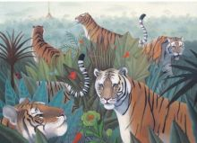 Tiger Walk Artist: Gwen Fulton
