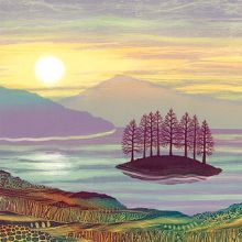 Last Stand greetings card By Rebecca Vincent