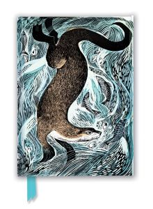 Angela Harding: Fishing Otter (Foiled Journal)
