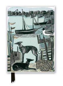 Angela Harding: Harbour Whippets (Foiled Journal)