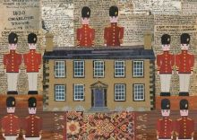 A Gift of Soldiers 8 toy soldiers given to Branwell Brontë By Amanda White