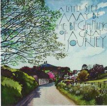 Spring SAM CANNON ART GREETINGS CARD