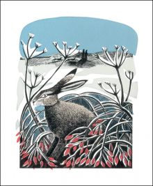 Winter Hare  by Angela Harding