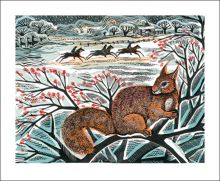 A Winter's Tail by Angela Harding