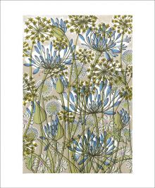 The Walled Garden Screenprint by Angie Lewin