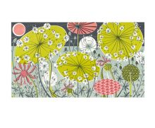 Meadow II lithograph - Angie Lewin Art Greeting Card