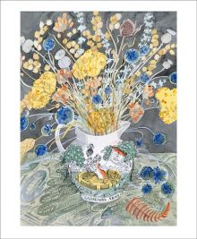 Gardener's Arms Watercolour by Angie Lewin