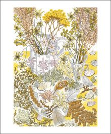 Nature Study, Late Summer by Angie Lewin