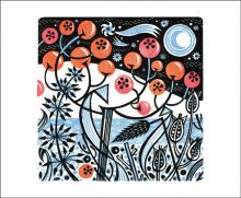 Winter Berries by Angie Lewin