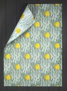 Birch Tree Sun New doubled sided giftwrap by Angie Lewin