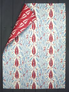 A double sided wrapping paper by Angie Lewin -