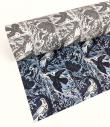 Doveflight double sided giftwrap designed by Mark Hearld