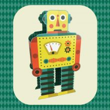 Robot Die cut Robot by Tom Frost