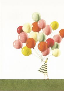 Balloons By Laura Stoddart