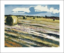 Cornfield Screenprint by Andrew Lovell