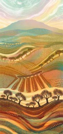 Autumn Splendour Rebecca Vincent - Greetings Card