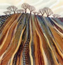 Ploughed - Rebecca Vincent Greeting Card