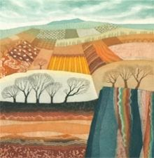 Rift Valley - Rebecca Vincent - Greetings Card
