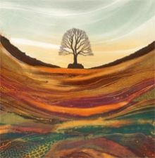 Sycamore Gap - Rebecca Vincent Greeting Card