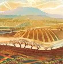 The Colours of the Earth - Rebecca Vincent Greeting Card