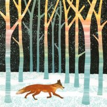 Night Fox card by Rebecca Vincent