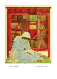 The lure of books By Clarence Coles Phillips(1880-1927