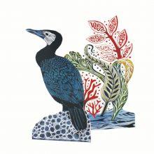 Cormorant 3D By Judy Lumley