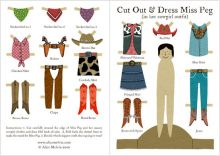 Cut Out and Dress Cowgirl Peg by Alice Melvin
