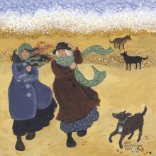 Colder Than Expected - Dee Nickerson Greeting Card