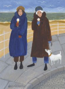 Never Too Cold For Ice Cream - Dee Nickerson