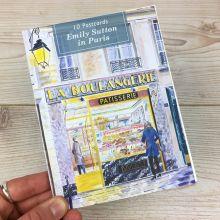 Emily Sutton in Paris Postcard Book