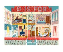 D for Doll's House screenprint by Emily Sutton