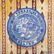 Victorian Crockery 'Yorkshire Relish' Watercolour by Emily Sutton