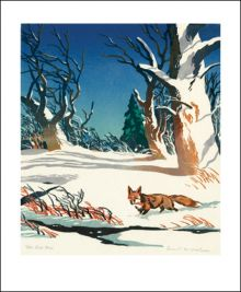The Red Fox by Ernest Watson