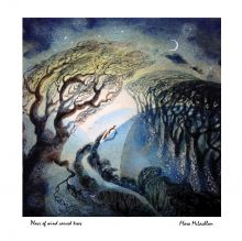Place of wind carved trees Print By Flora McLachlan