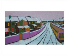 Snow in the Suburbs by Gail Brodholt
