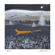 Night Fox By Giuliana Lazzerini