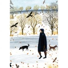 Out In The Snow By Dee Nickerson
