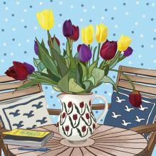 Tulips By Mig Wyeth
