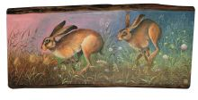 Hares in the Meadow By Jemima Jameson