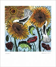 Summer - Hannah Firmin Art Greeting Card